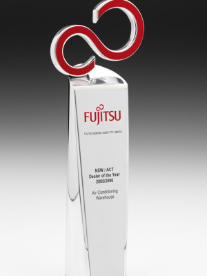 Fujitsu Dealer of the Year Trophies
