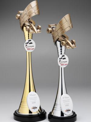 Custom sports trophies