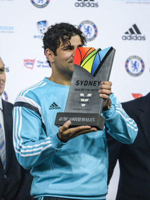 Image during the international friendly match between Sydney FC and Chelsea FC at ANZ Stadium on June 2, 2015 in Sydney, Australia.