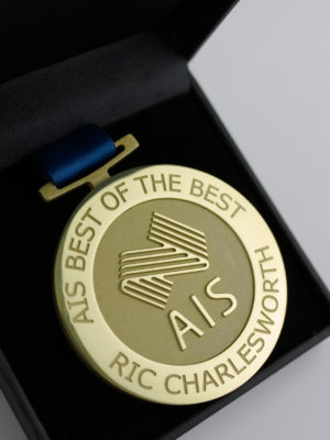 AIS Best of the Best Medallion