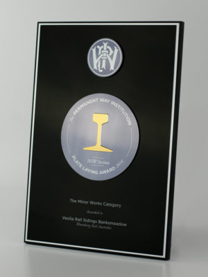 PWI Award Plaque