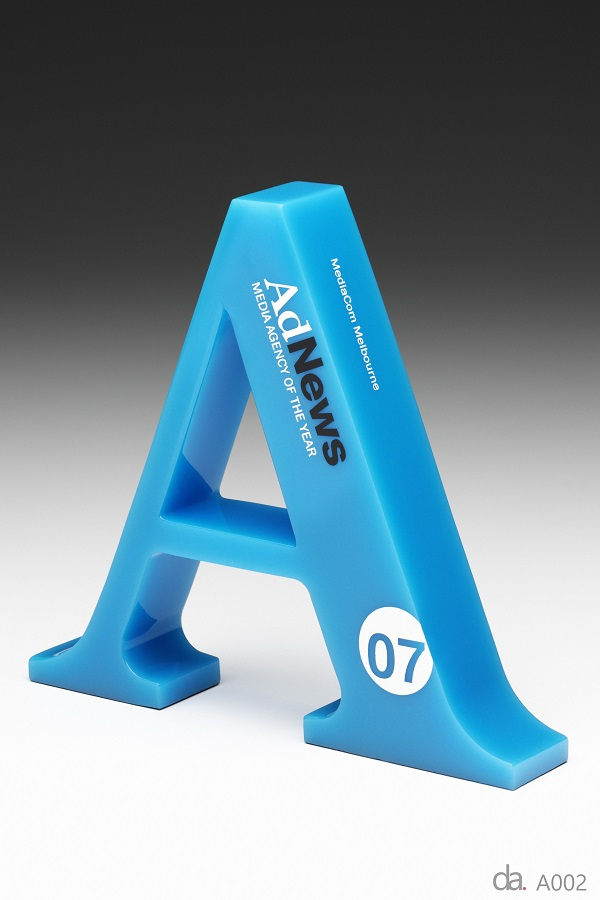 AdNews Awards-Custom resin. H: 280mm W: 200mm