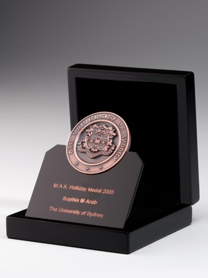 The University of Sydney MAK Halliday Medal