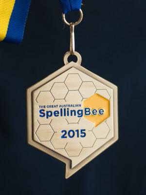 Spelling Bee Medallion - Custom Medals Sydney