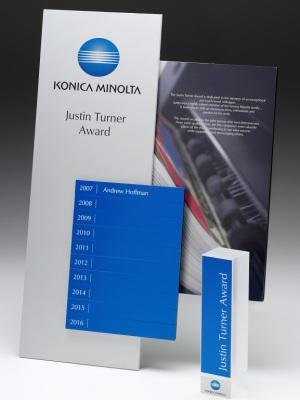Konica Minolta Perpetual Award Plaque