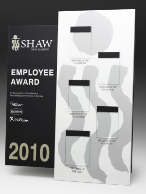 Shaw Employee Award | Award plaques - Brass plaques Australia