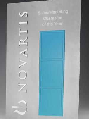 Novartis Perpetual Award Plaque