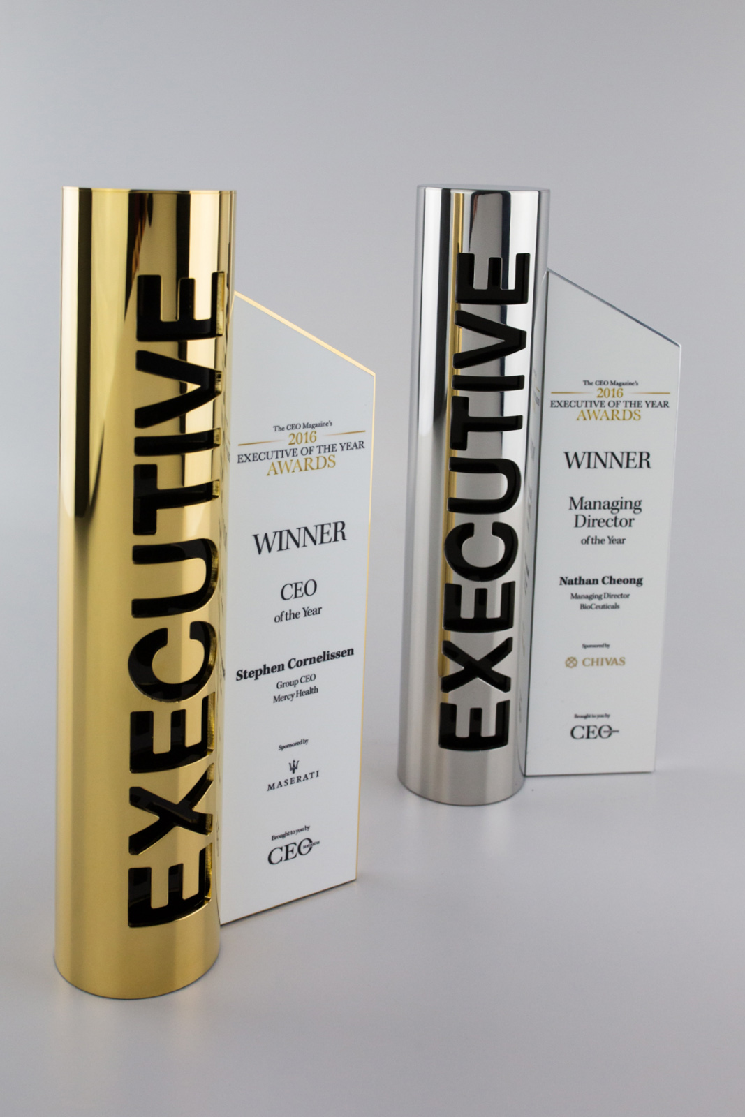 CEO Magazine Award Custom Trophies