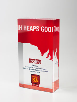 Coles Award Trophy Adelaide