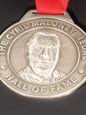 Cyril Maloney Medal | Custom medallions - Custom Medallions Australia