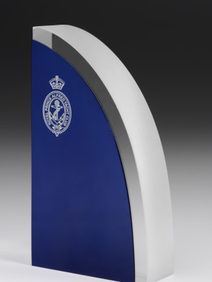 Royal Prince Alfred Yacht Club - Coloured acrylic award