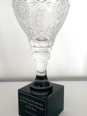 The Star Casino Recognition Crystal Cup