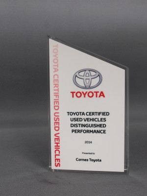 Toyota - crystal peak with sublimated faceplate