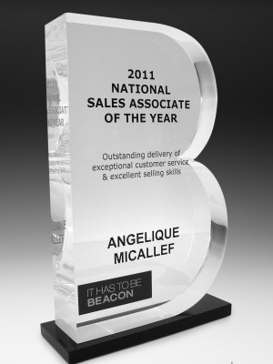 Beacon Sales Awards | Melbourne & Sydney Awards and Trophies