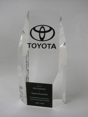 Sydney awards and trophies - Crystal trophies Australia