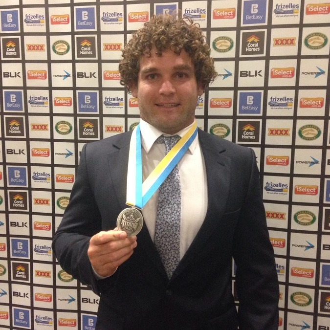Paul Broughton Medal 2014 - Custom medal Australia - custom medallions