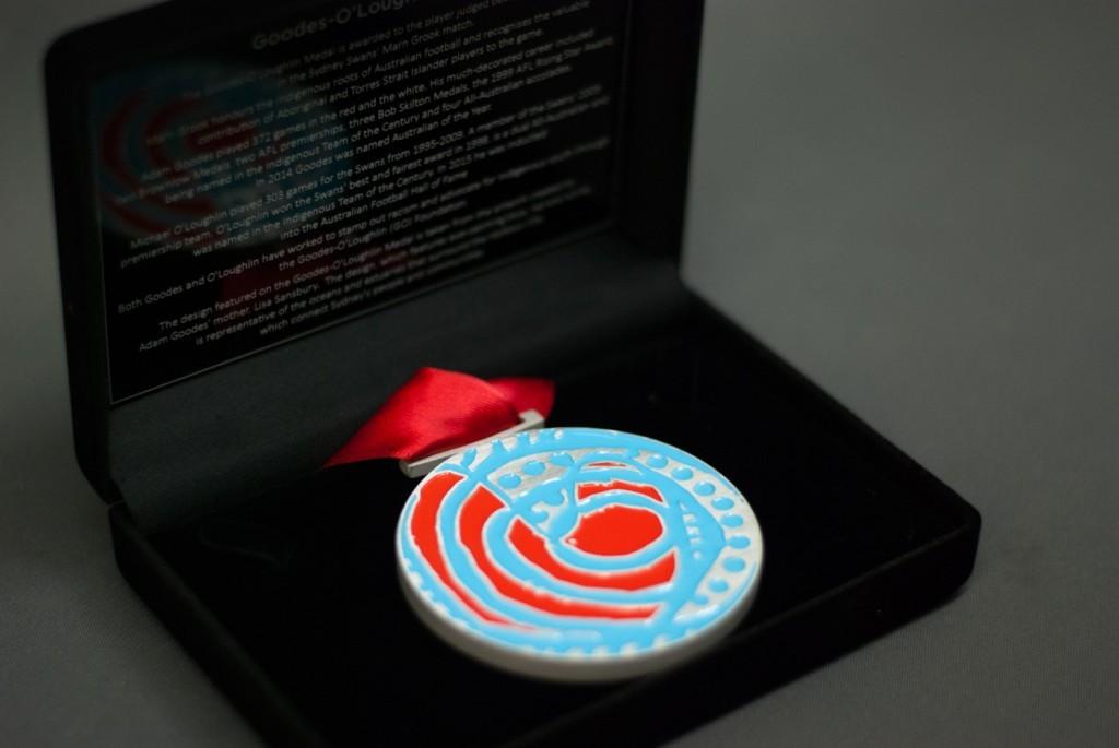 The Goodes-O'Loughlin Medal - custom medal Sydney