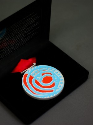 The Goodes-O'Loughlin Medal - custom medal Australia