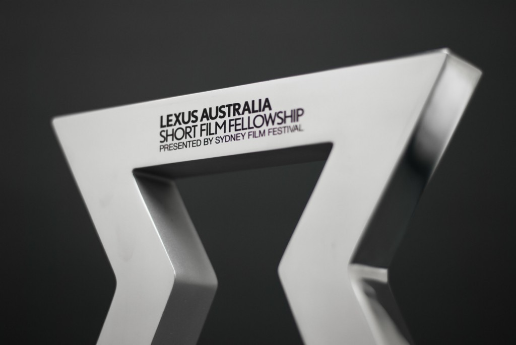 Lexus Short Film Fellowship Trophy - Sydney Film Festival Trophy Detail