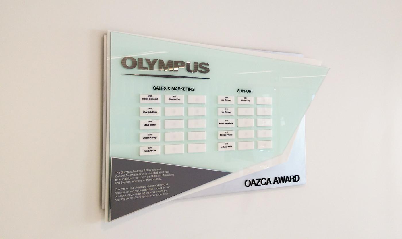 Olympus Perpetual Plaque Trophy