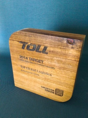 Toll Eco Award Trophies