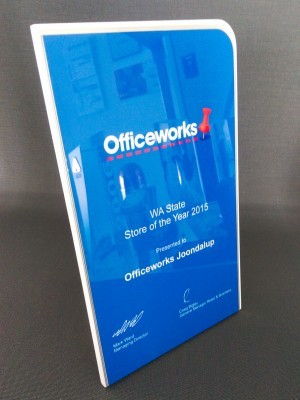 Officeworks Award Plaques