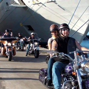 Cruising around the streets with your #1 Bikie gang