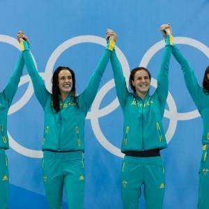The Women\'s 4 x 100m Freestyle Relay Team