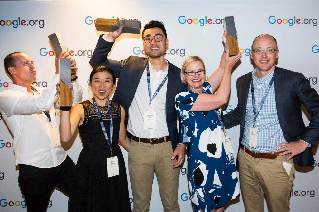 Googe Impact Challenge Award winners