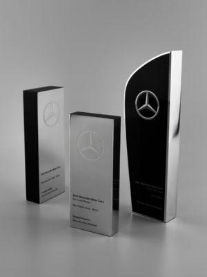Premium award trophies