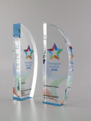 Unique acrylic awards NSW
