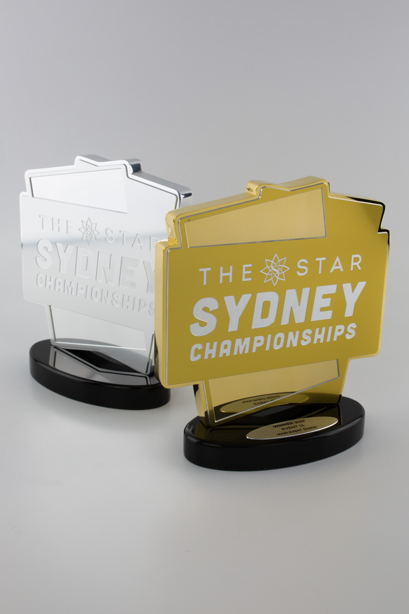 Card game trophies Melbourne