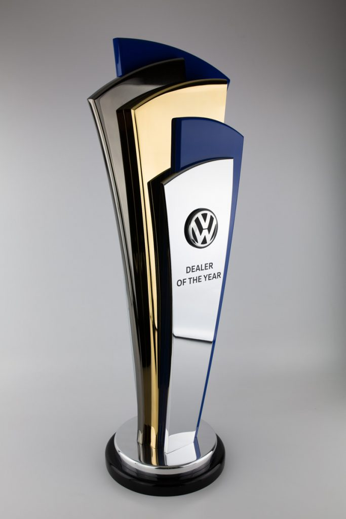 Volkswagen Dealer of the Year Perpetual Trophy