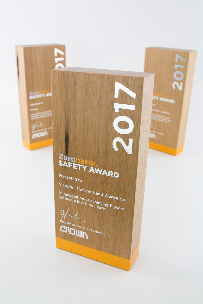 Sustainable corporate trophies Sydney