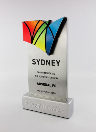 Destination NSW Arsenal FC Commemorative Trophy