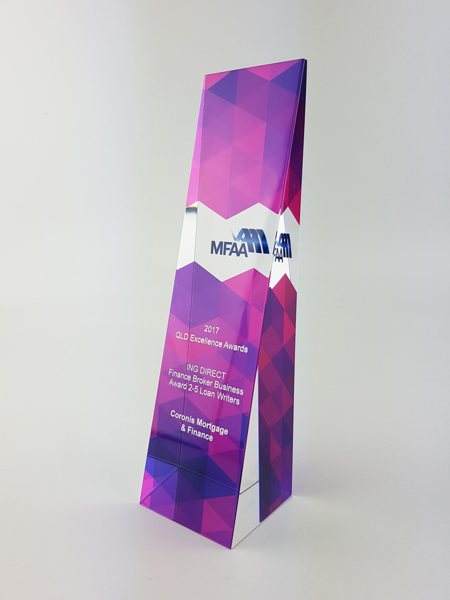 MFAA Crystal Trophies Melbourne