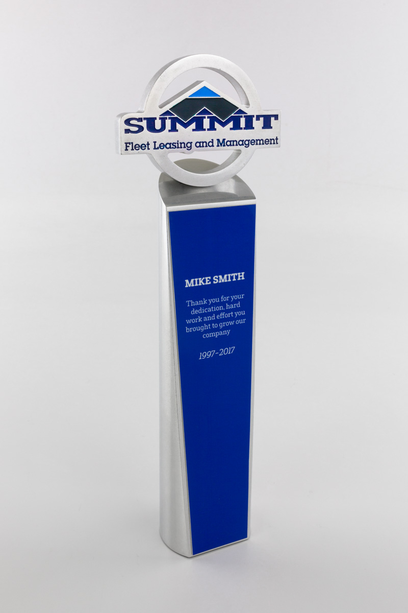 Summit Fleet Employee Recognition Award Trophy