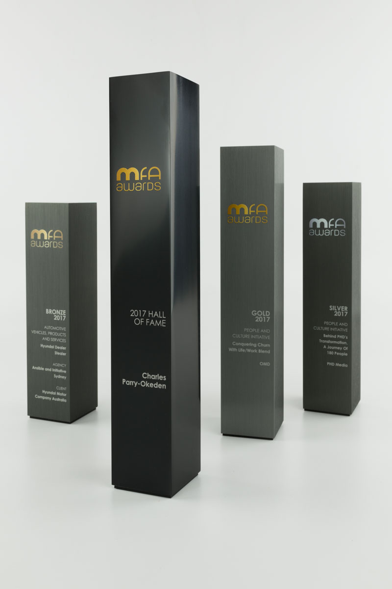 MFA Custom Award Trophies Sydney