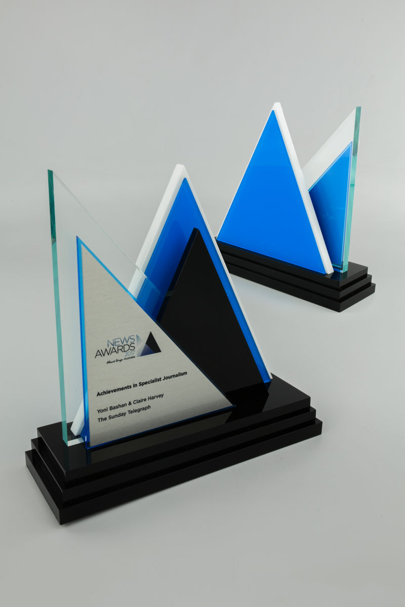 News Corp Australia Award Trophy