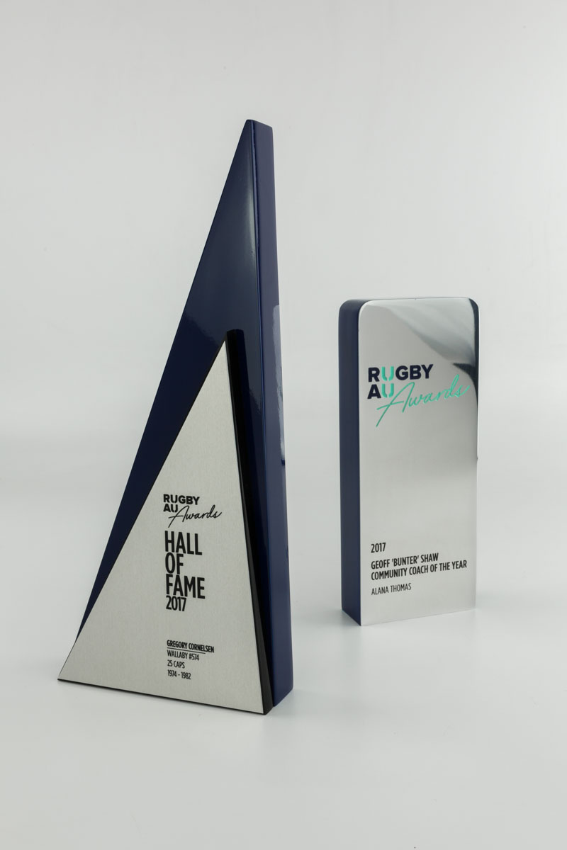 Rugby Australia Custom Award Trophies Sydney