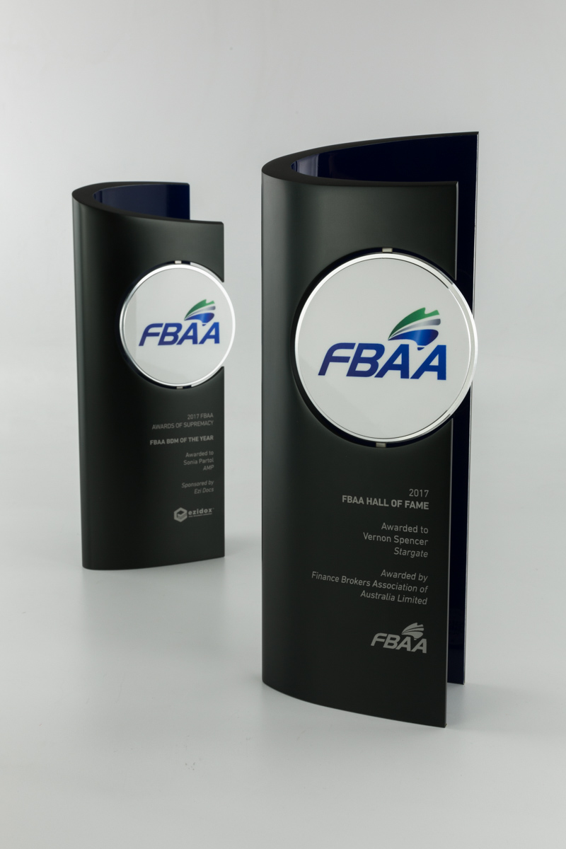 FBAA Finance Brokers Association Award Trophies Queensland
