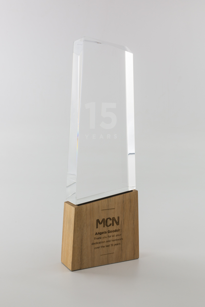 MCN Long Service Recognition Award Trophies