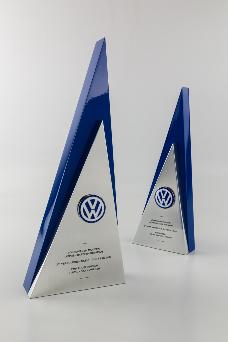 Volkswagen Modern Apprenticeship Program Custom Award Trophies