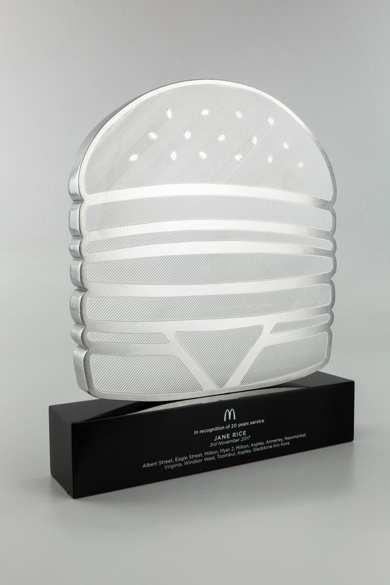 McDonalds Long Service Recognition Trophies Australia