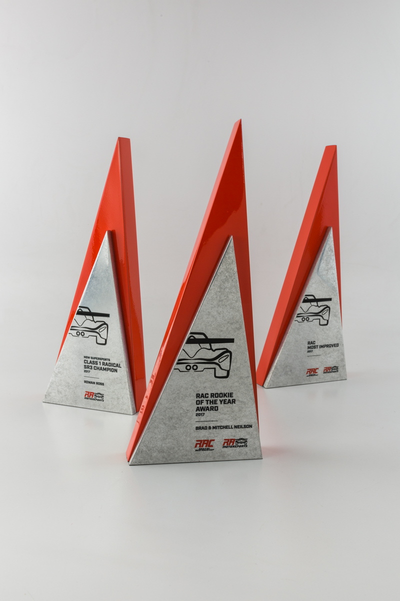 Radical Australia Cup RAC Motorsports Custom Racing Trophies