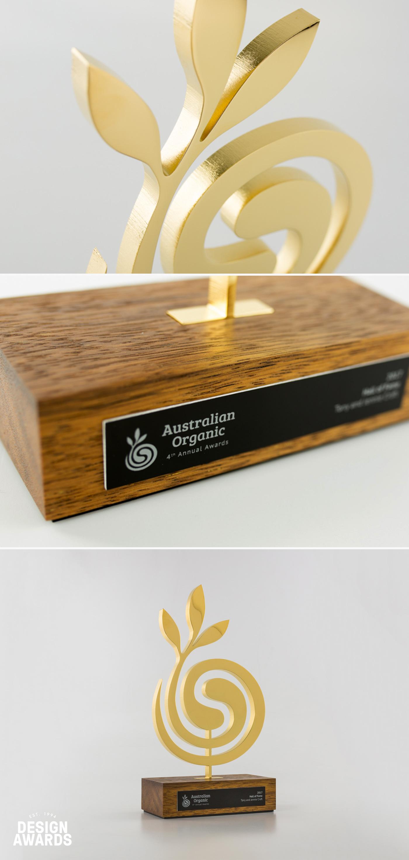 Australian Organic Award Trophy