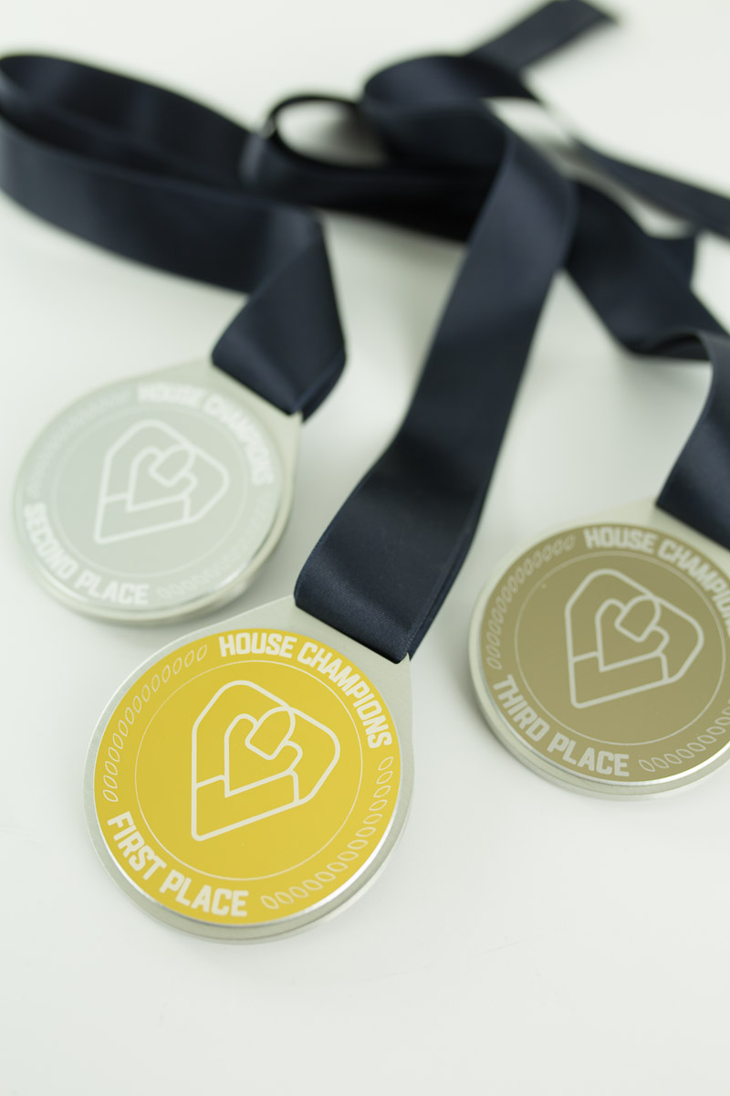 Teachers Health Australia Custom House Champion Medals
