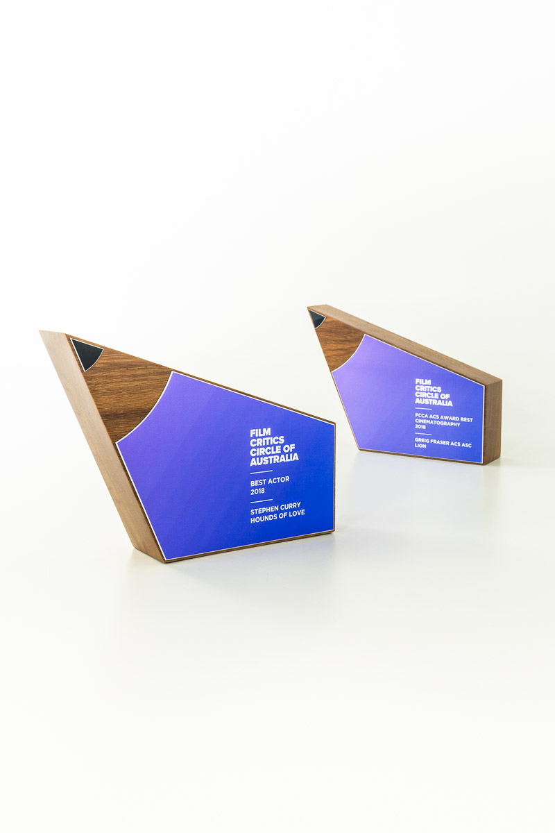 Film Critics Circle of Australia Sustainable Award Trophies