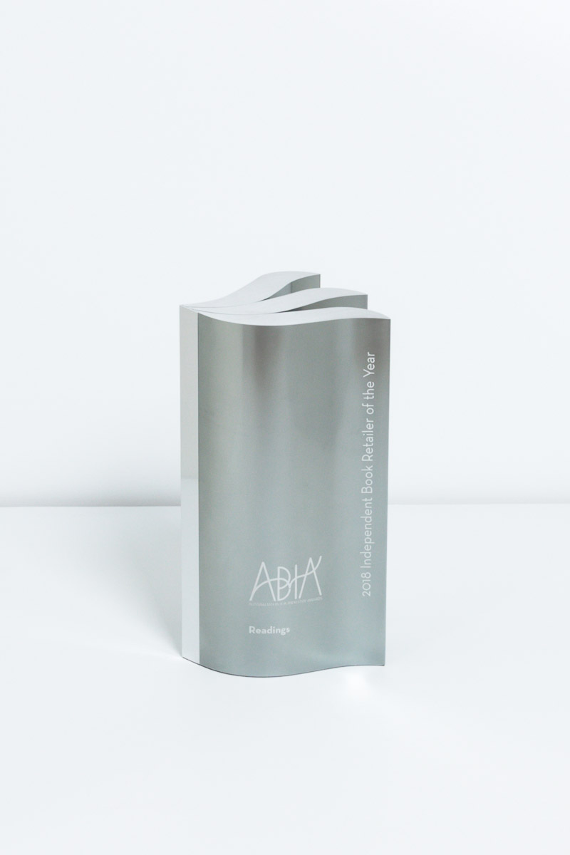 Australian Book Industry Awards Award Trophy