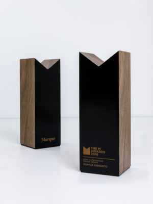 Marque The M Awards Trophies